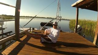 How to Cheek Outside of the Wake while Barefoot Waterskiing