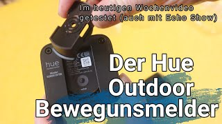 Philips Hue Outdoor Sensor - Bewegungsmelder für Außen im Test
