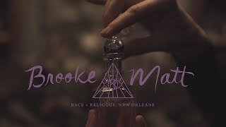 Bride Wears Black Wedding Dress | Dark And Moody Race And Religious Wedding