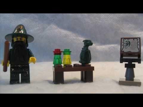 Vidéo LEGO Kingdoms 7955 : Le magicien