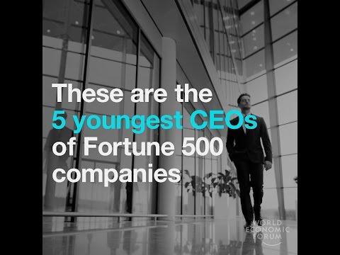 , title : 'These are the 5 youngest CEOs of Fortune 500 companies