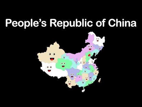 China/Peoples Republic of China/China's Divisions