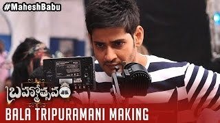 Bala Tripuramani Song Making