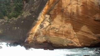 preview picture of video 'le cap jaune à l'île de la réunion à vincendo près de saint joseph'