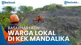 Basarnas Latih Warga Lokal di KEK Mandalika untuk Antisipasi Kejadian Membahayakan