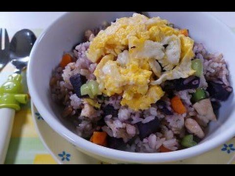 Video Nasi Goreng Ubi menu sehat untuk anak 2015