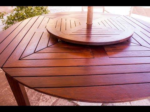 COME RESTAURARE MOBILI IN LEGNO - Verniciare mobili da esterno e giardino