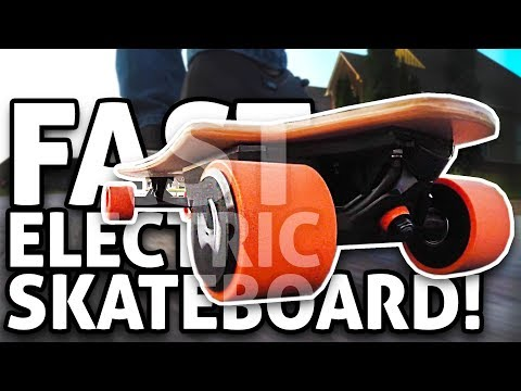 FAST Electric Skateboard w/ Swappable Battery: Landwheel L3 REVIEW