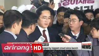 Samsung heir apparent questioned by independent counsel