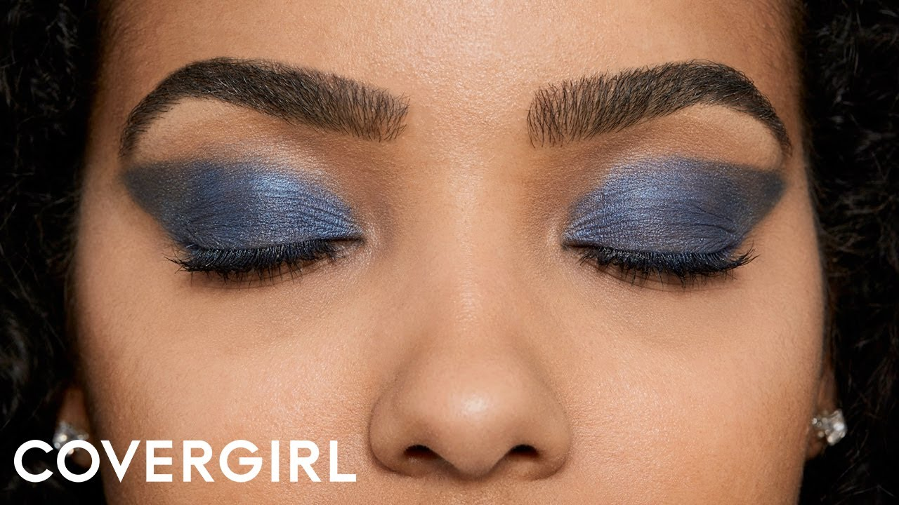Makeup Tutorial: How To Create A Colorful Sea Strobe Eyeshadow Look   Covergirl