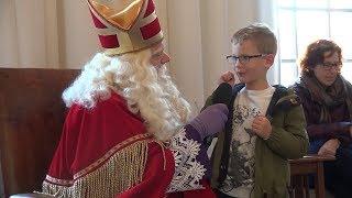 Sinterklaas in Het Witte Kasteel - Tanden poetsen na het snoepen