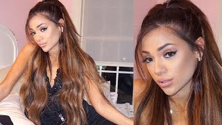 3 Girls who want to be Ariana Grande so bad.