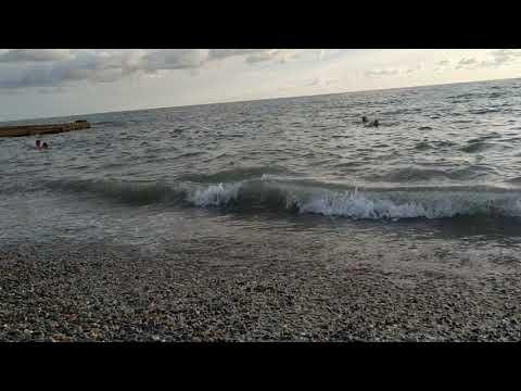 Сочи Адлер, чёрное море 2019