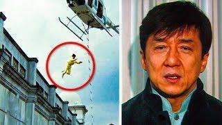 """10 ฉากในภาพยนตร์อันตรายที่สุดที่ """"เฉินหลง"""" เคยแสดงมา"""