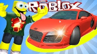 СУПЕР ГОНКИ На машине ЗА МИЛЛИОН Car And Race приключение мультяшного героя в Roblox СПТВ