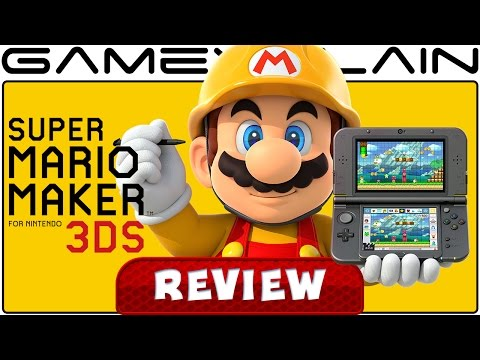 Super Mario Maker 3DS - REVIEW - YouTube video thumbnail