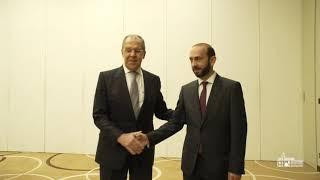 Հայաստանի ու Ռուսաստանի ԱԳ  նախարարների հանդիպումը