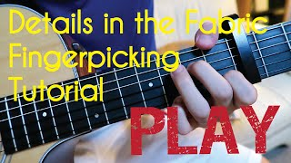 Details In The Fabric FINGERPICKING Tutorial (Jason Mraz)