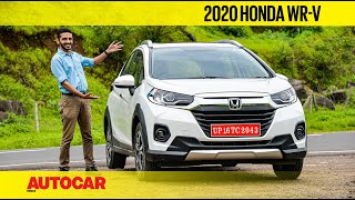 2020 Honda WR-V Review - Just What Has Changed? | First Drive | Autocar India
