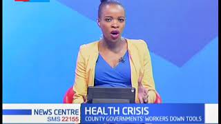 Sec Gen, KCGWU Roba Duba's insights on the health crisis facing counties