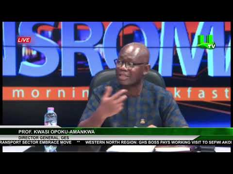 GES Boss Speaks On SHS Placement & Challenges
