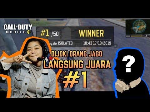 DIJOKI ORANG JAGO LANGSUNG JUARA | Call Of Duty Mobile Indonesia