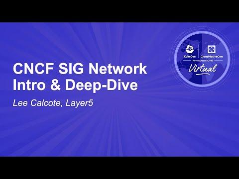 Image thumbnail for talk CNCF SIG Network Intro & Deep-Dive