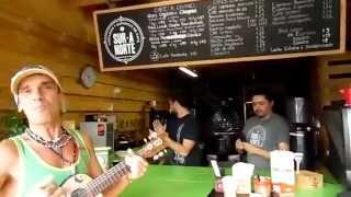 Manu Chao - Huelga De Amores (cover) - en el Café ** Sur a Norte ** Tijuana 2015