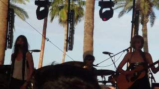 "Charlotte Gainsbourg ""Greenwich Mean Time"" @ Coachella 2010"