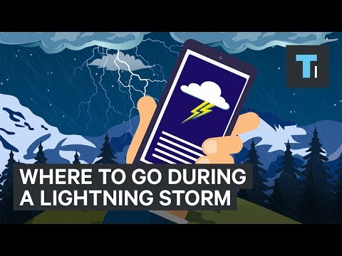 Here are the worst places to be during a lightning storm