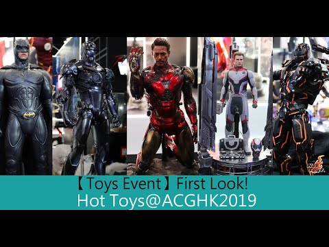 First Look! Hot Toys Collectibles figures @Acghk2019