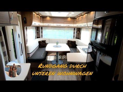 Wohnwagen Mit Dreier Etagenbett : Ein rundgang durch unseren wohnwagen dethleffs beduin dr