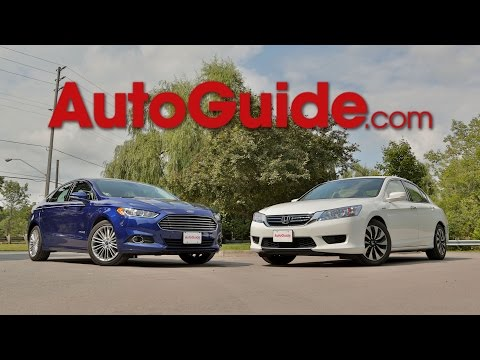 2015 Honda Accord Hybrid vs. 2015 Ford Fusion Hybrid