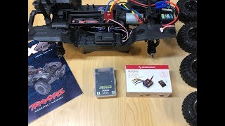 Traxxas TRX-4 chassis kit build review