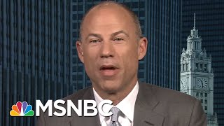 Michael Avenatti: This Tape Was Leaked By Michael Cohen's Side In My View | AM Joy | MSNBC