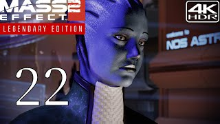 Mass Effect 2  Walkthrough Gameplay and Mods pt22  The Observer 4K 60FPS HDR Insanity