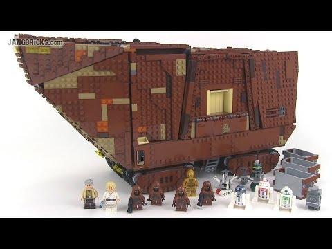 LEGO Star Wars 75059 UCS Sandcrawler 2014 review!