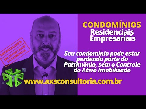 Controle Patrimonial para Condomínios Consultoria Empresarial Passivo Bancário Ativo Imobilizado Ativo Fixo