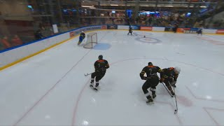 Hockey Skill Challenge - Drone perspective || TOPE FPV