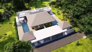 Contemporary Two Bedroom House with Roof Top Terrace in New Project for Sale Near Ao Nang Beach