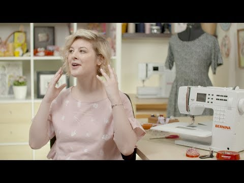 DIY lover and YouTuber Annika Victoria talks about the BERNINA 3 Series