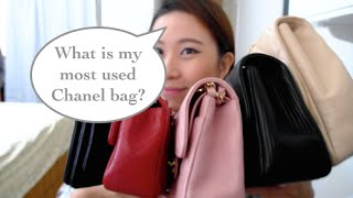 What's my most used Chanel bag?