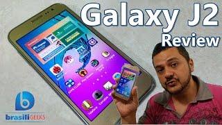 GalaxyJ2-OSmartphoneBom,BonitoeBarato!-ReviewAnáliseCompletaemPortuguês