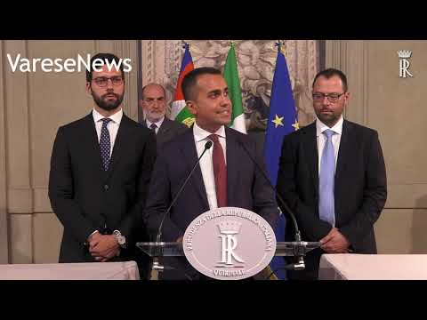 I 10 punti di Di Maio per un nuovo governo