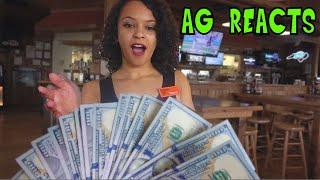Mr Beast - I Tipped Waitresses $20,000 Reaction
