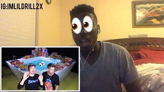 World's Largest Bowl 👀Of Cereal | REACTION