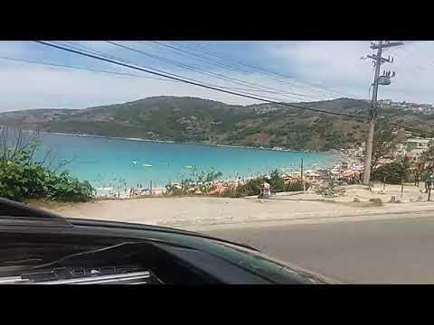 Chegando em Arraial do Cabo RJ