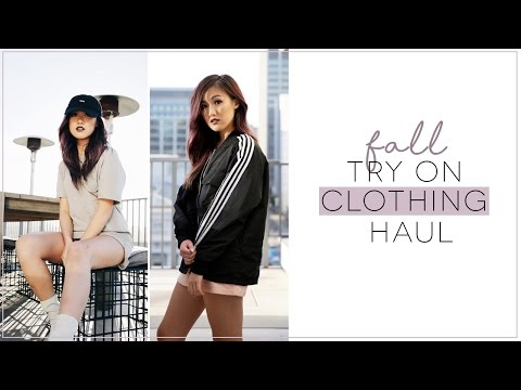 Fall Try-On Clothing Haul | ilikeweylie