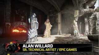 Unreal Engine 4: dimostrazione real-time delle nuove features