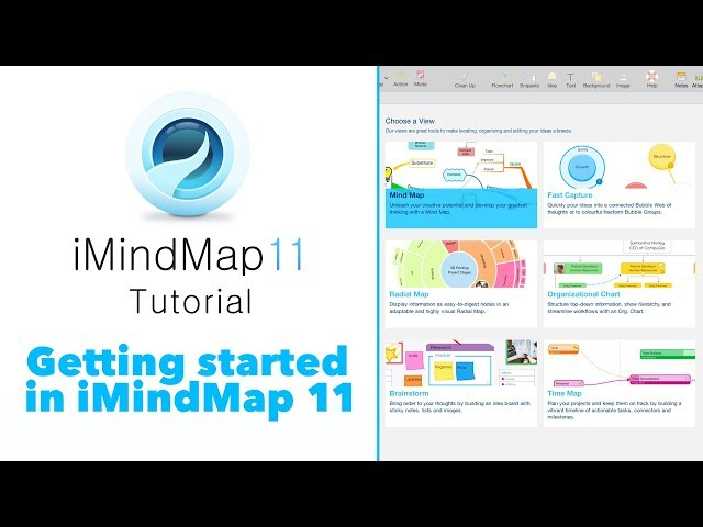 Tutorial: Getting Started in iMindMap 11